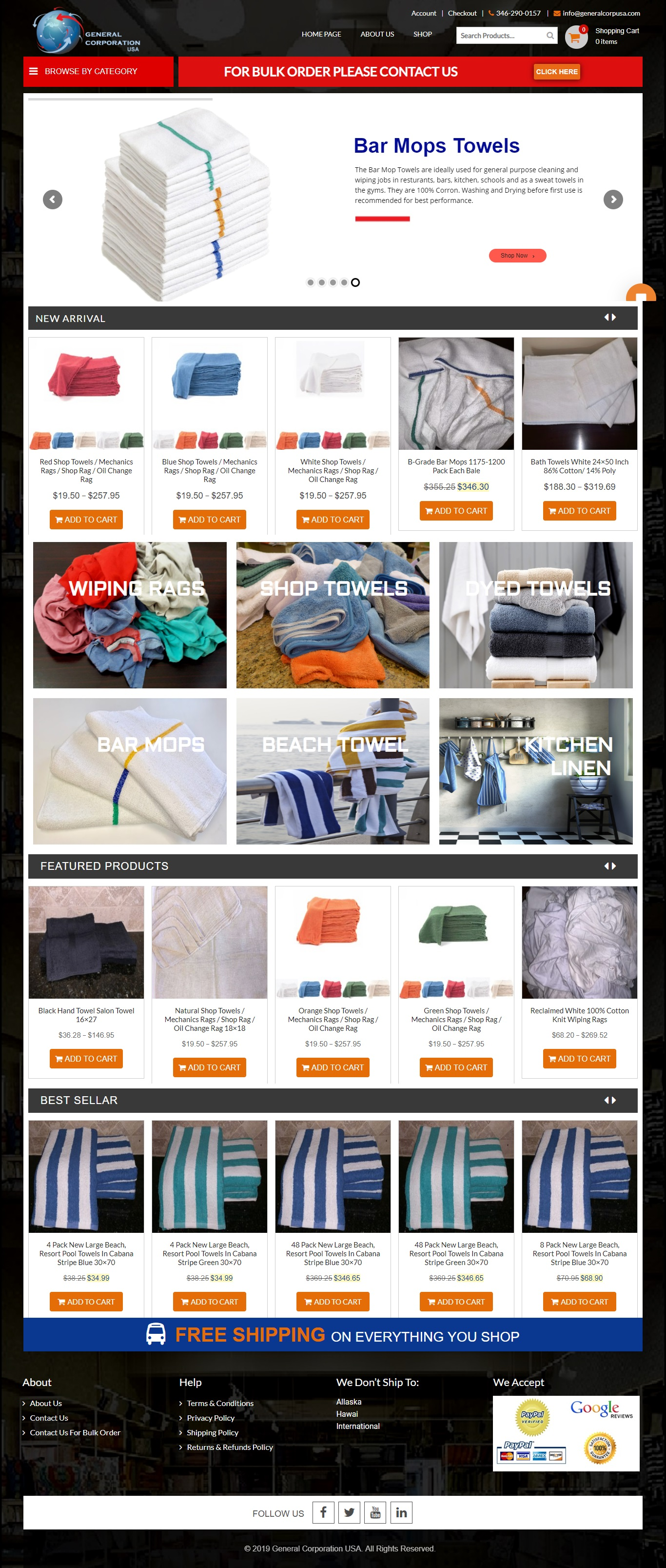 Complete eCommerce website with Paypal and Stripe gateway, UPS shipping method, Products with Size and color variations built on Word Press.…